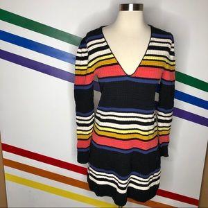 NEW Free People striped sweater dress